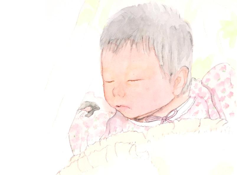 生まれてきた赤ちゃんに